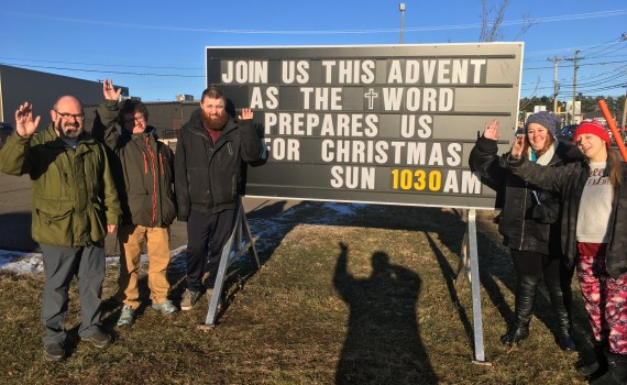 catechism class invites to Advent joy