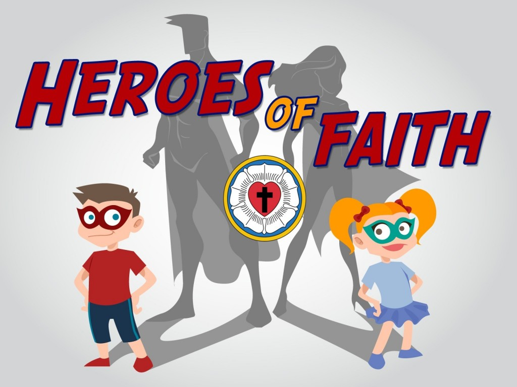 Heroes of Faith online VBS, July 20-24 daily from 3-4pm, for ages 5-13, at Good Shepherd Lutheran Church, Moncton NB